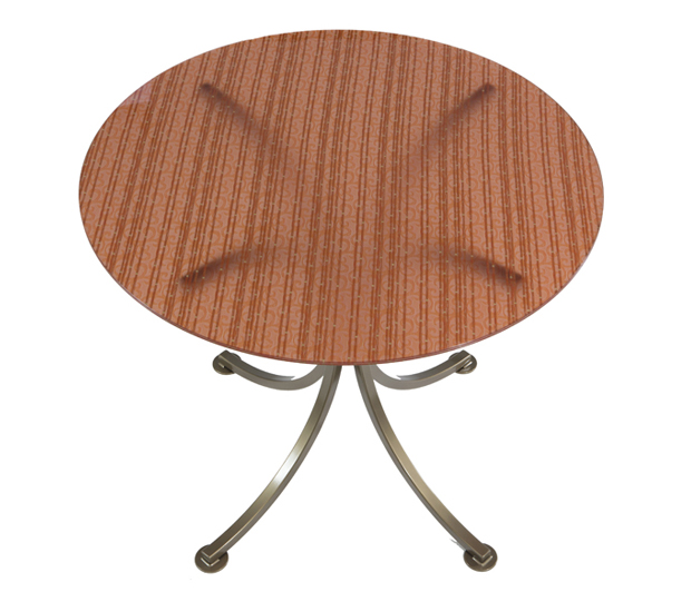 Glass Top Table by Bennington Metal Furniture