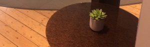 Kimorra Glass Top Table by Gresham Office Furniture