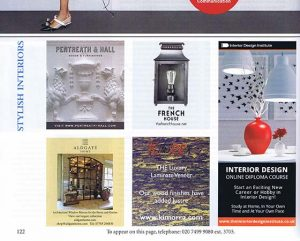 World of Interiors Advert